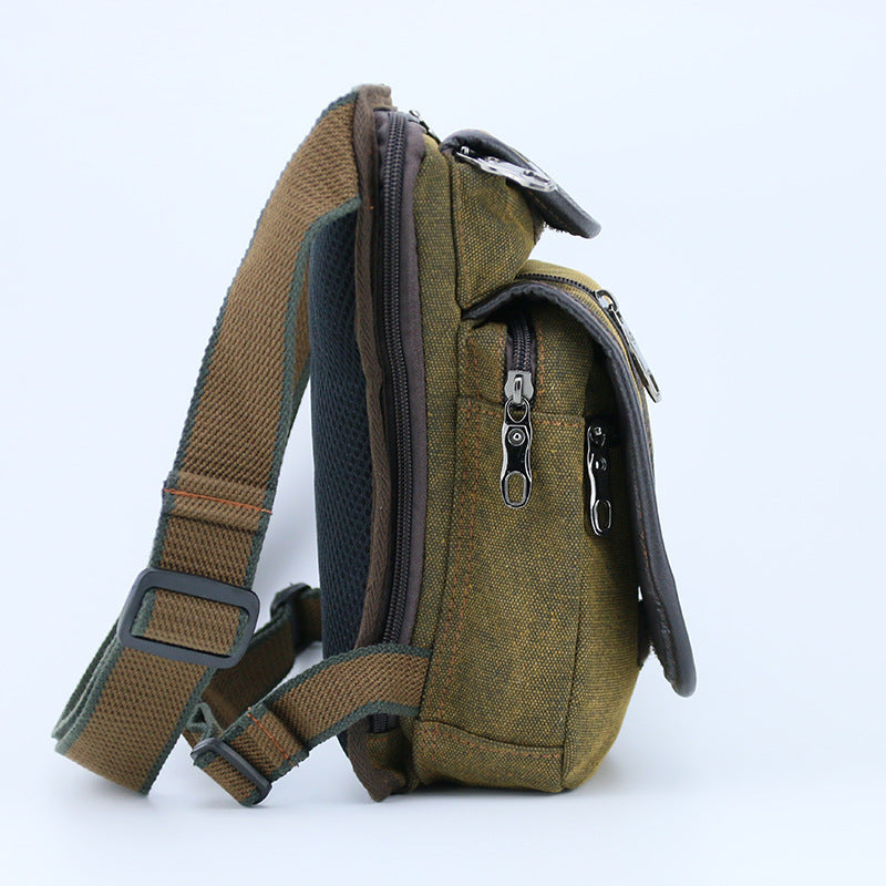 Canvas/Nylon Men Waist Pack Leg Drop Bags - Saving Trend