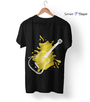 Men's Premium Guitar T-Shirt - Saving Trend