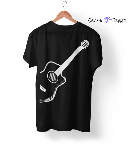 Men's Simple Guitar Premium T-Shirt - Saving Trend