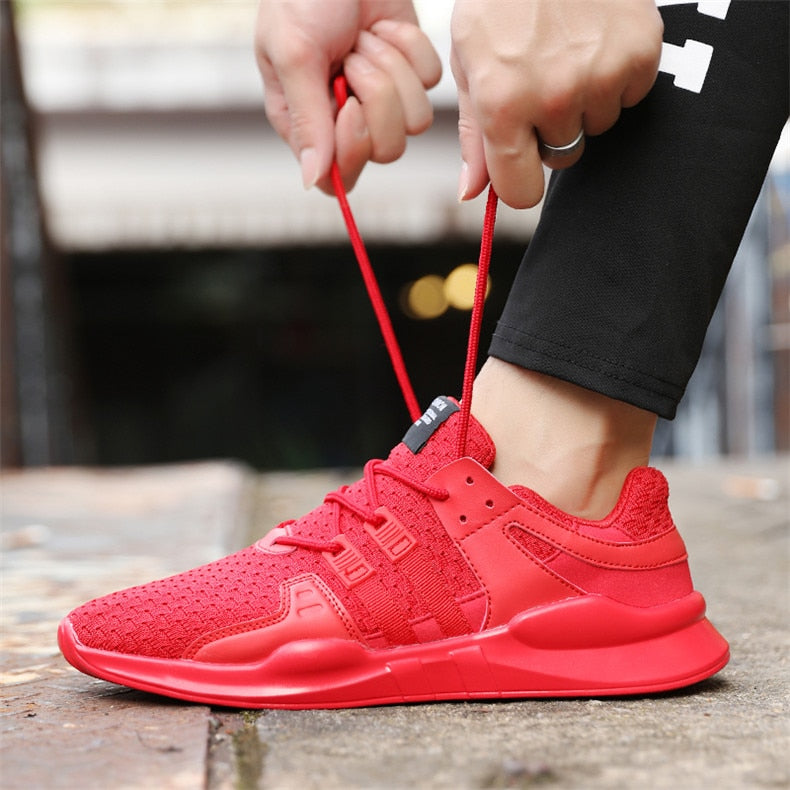 Men Running Mesh Outdoor Training Sneakers - Saving Trend