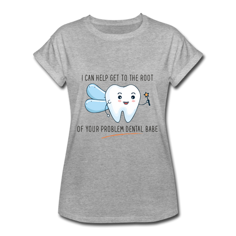 Dental Babe Women's Relaxed Fit T-Shirt - Saving Trend