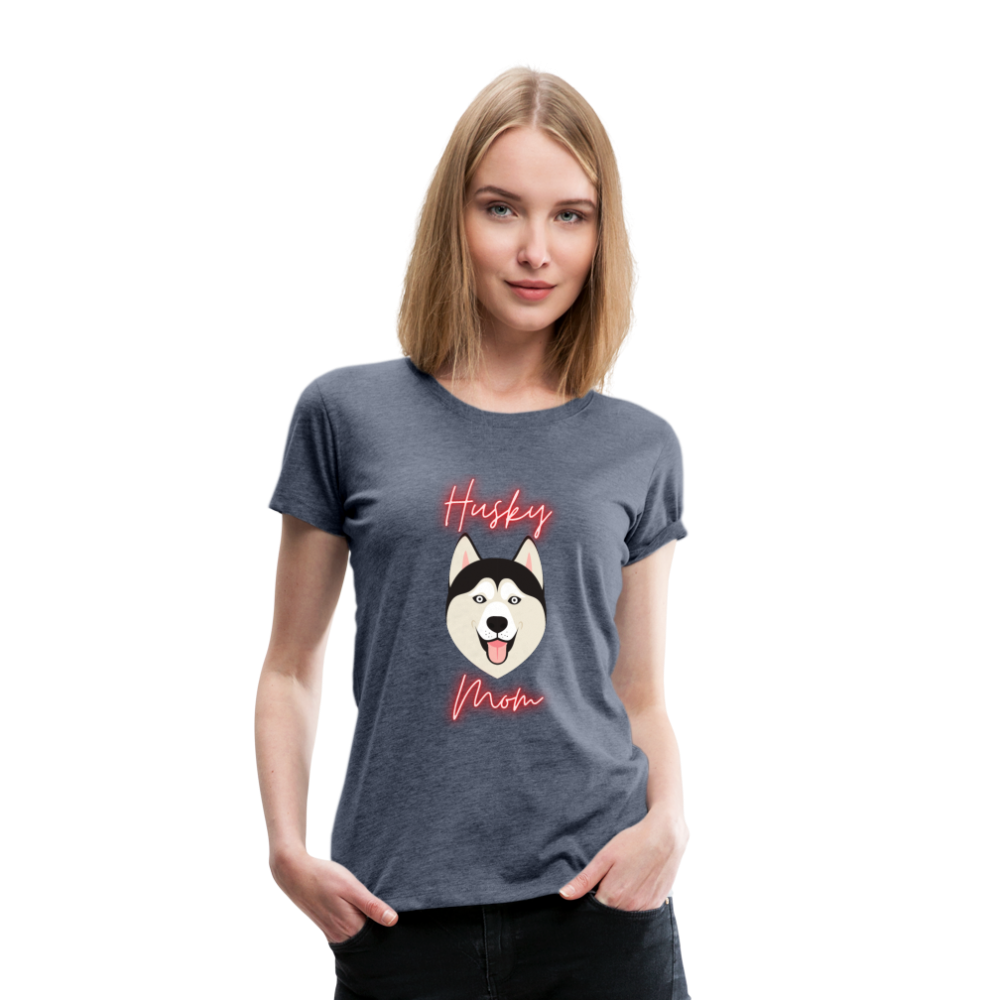 Husky Mom Women's Premium T-Shirt - Saving Trend
