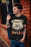 Buy More Guitars Premium T-Shirt - Saving Trend