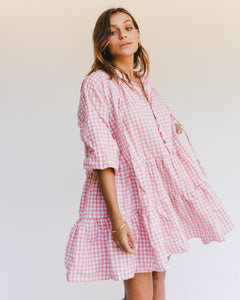 Avalon Smock Dress | Candy Gingham