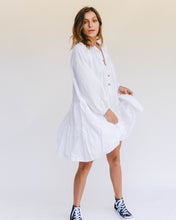 Load image into Gallery viewer, Avalon Smock Dress | White