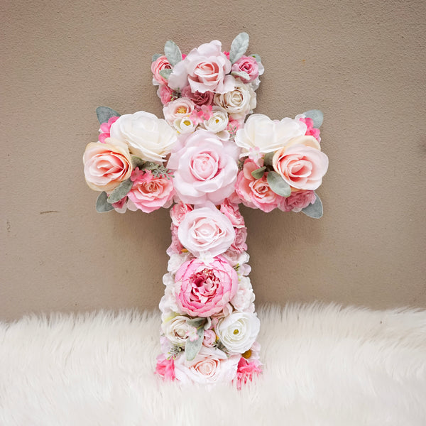 Baptism, christening, baptism decorations, baptism decor, holy communion, christening gift, cross, holy cross, baptism party, baptism cross, baptism favors, baptism cake, baptism girl, christening decor, christening party, flower cross, floral cross, Christian decor, home decor, bedroom decor, nursery decor, girl bedroom decor, girl nursery, wall art, crucifix, baptism banner, christening banner, First Communion Decor, Baptism Gift, Baptism Backdrop, first baptism, baptism dress, communion outfit,