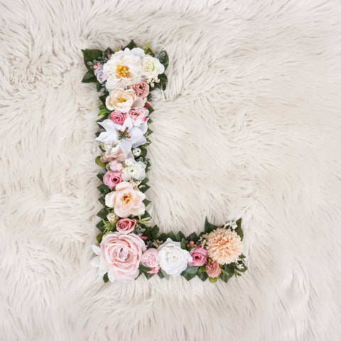 Flower Letter, Letter, Boho Letter, Floral Letter, Baby Shower Letter Wedding Letter, Nursery Wall Art Boho Nursery Decor, Home and Living, Home Decor, wall decor, wall hangings, flower letter, boho letter, baby shower letter, wedding letter, nursery wall art, room decor for teen, nursery letter, nursery name, wedding decor, letter nursery, nursery name sign, pink nursery decor, pink white gold, girl nursery decor, girl bedroom decor, wall hanging decor, nursery sign, nursery decor