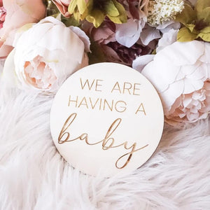 We're Having A Baby, Gender Reveal, Baby Announcement,Pregnancy Announcement, Baby Milestone Card, Mom To Be, Baby Boy, Baby Girl