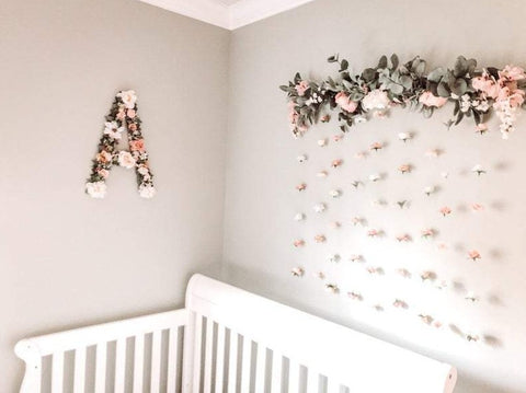 Floral Name, Name Letters, Name Reveal, Flower Letter, Floral Baby Name, Name Decor, Gender Reveal Decor, Flower Wall, Girl Name, Girl Gift, Kids Bedroom Decor