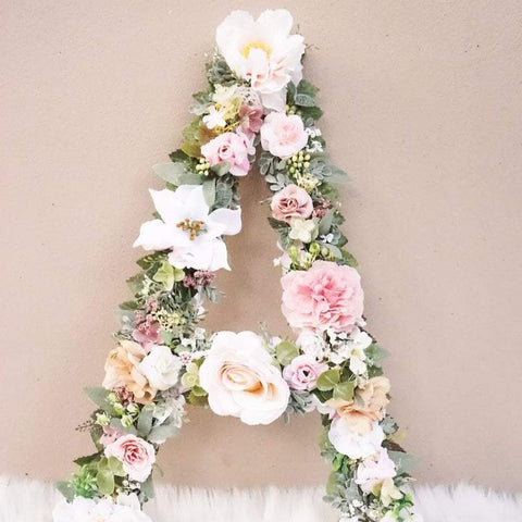 First Birthday Decor, Birthday Number, Party Decor, Flower Number, Floral Number, Birthday Photo, Floral Letter, Flower Letter, Number