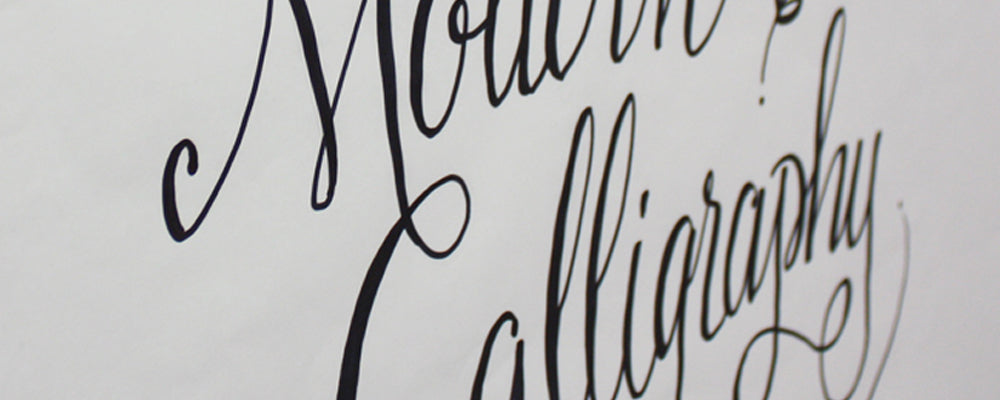 Workshop // Introduction to Modern Calligraphy