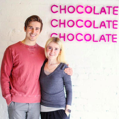 Alicja Confections Co-owners Alicja and Nick
