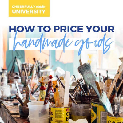 How to Price your Handmade Goods freebie graphic