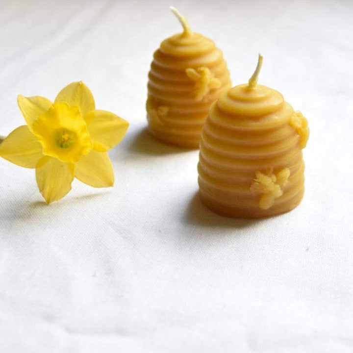 The Wax Studio Beeswax Beehive Candles