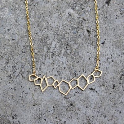 Geometric Rocks Necklace