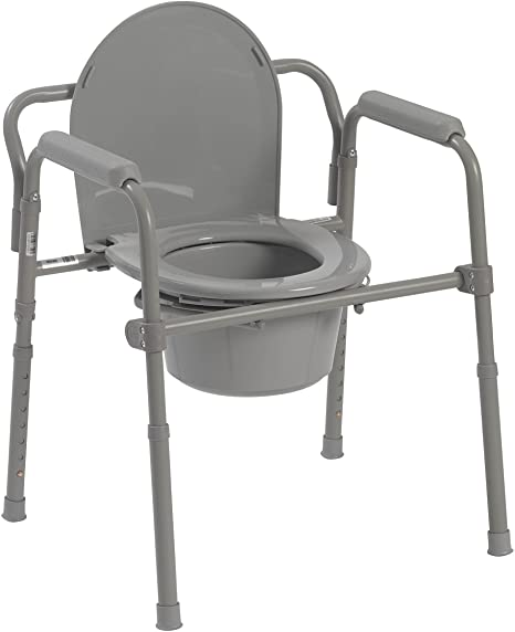 Commode Chairs & Raised Toilet Seats
