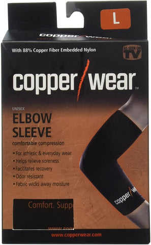 Copper Wear Compression Elbow Sleeve