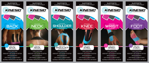 Kinesio Pre-Cut Application
