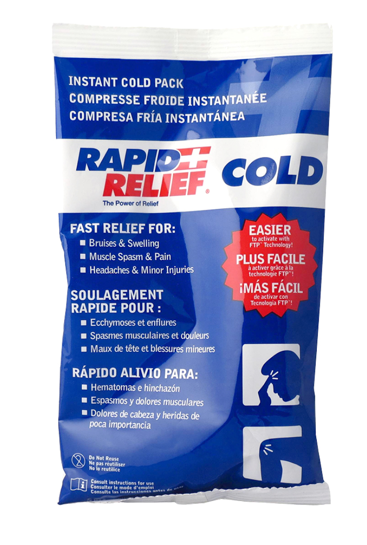 Rapid Relief Instant Cold Pack 5x9