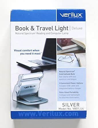 Verilux Natural Spectrum Book & Travel Light Deluxe - Reading and Computer Light