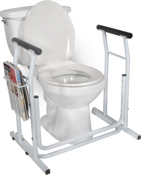 Drive Medical Free Standing Toilet Safety Rail