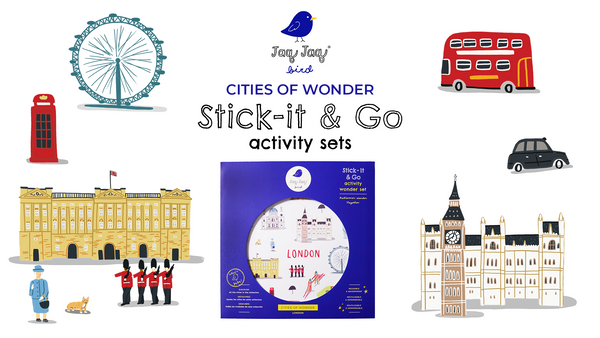 Cities of Wonder Stick-It & Go Activity Sets — London