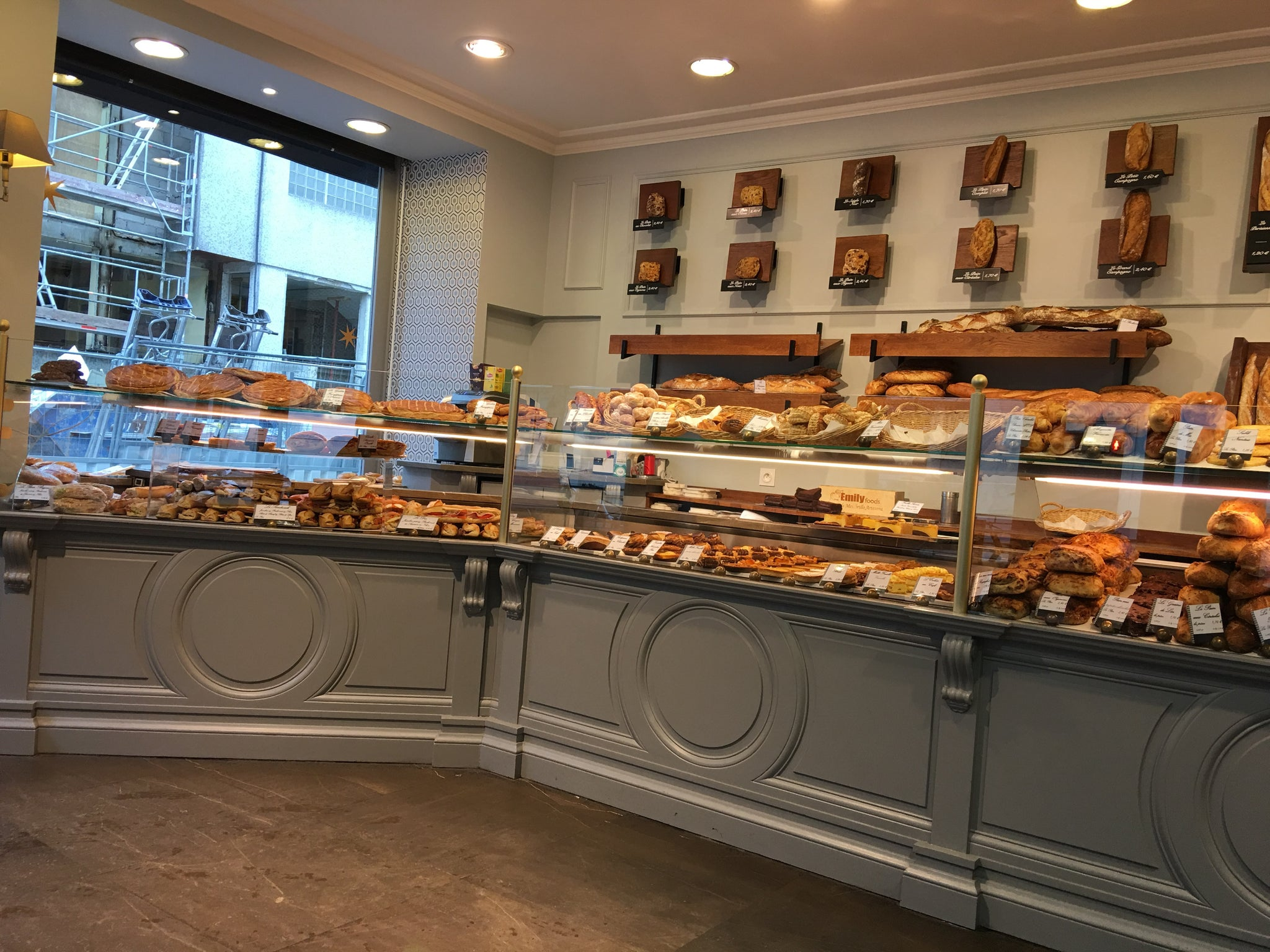 The same boulangerie I visit every time I'm in Paris. They renovated this year and it looks gorgeous.