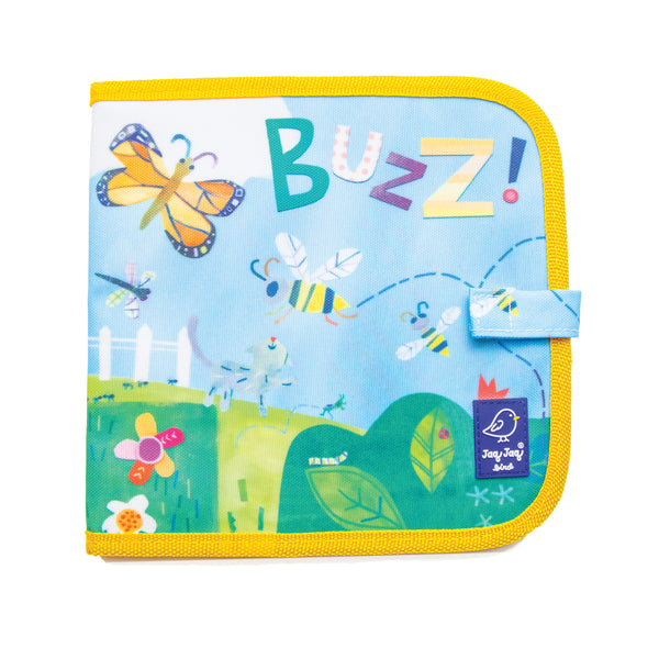 Jaq Jaq Bird x Hello, World! Doodle It & Go erasable book - Backyard Bugs