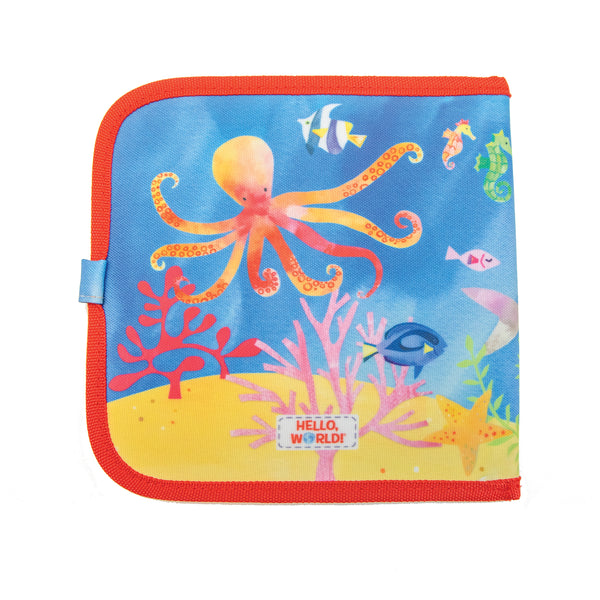 Jaq Jaq Bird x Hello, World! Doodle It & Go erasable book - Ocean Life