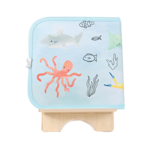 Doodle It & Go erasable book - Sea Life