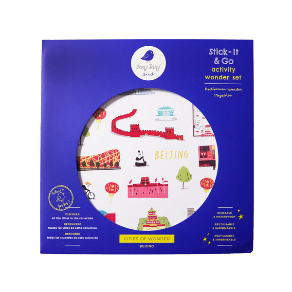 Cities of Wonder Stick It & Go activity set - Beijing