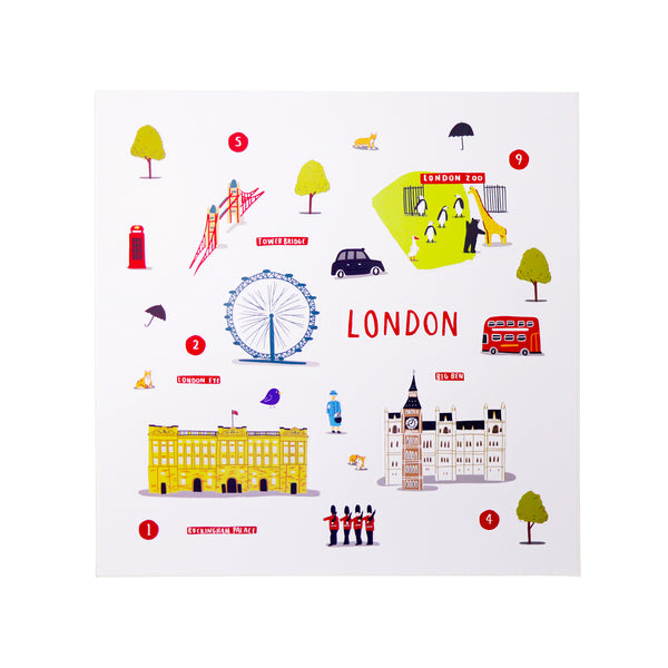 Cities of Wonder Stick It & Go activity set - London