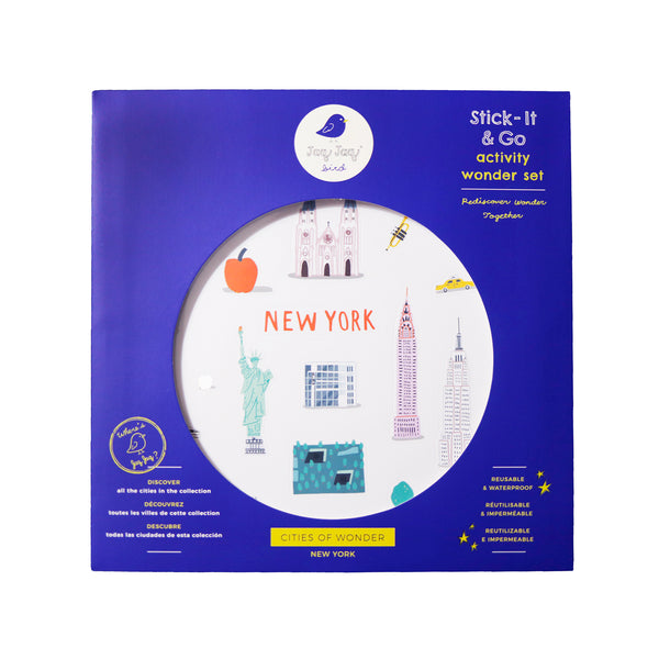 Cities of Wonder Stick It & Go activity set - New York
