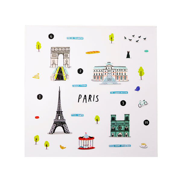 Cities of Wonder Stick It & Go activity set - Paris