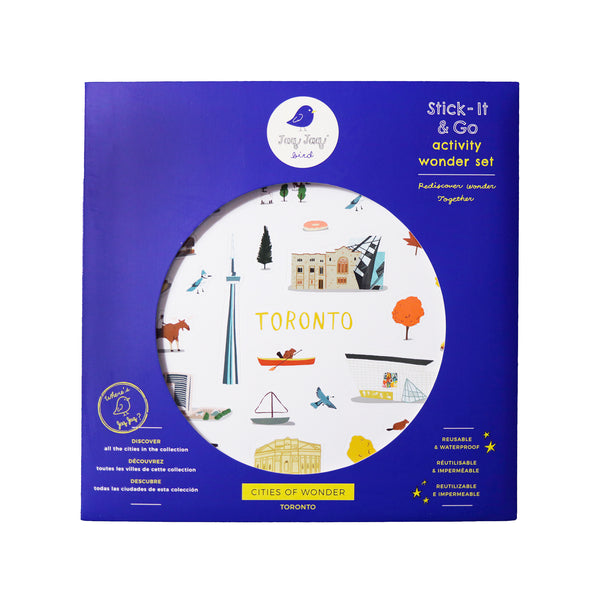 Cities of Wonder Stick It & Go activity set - Toronto