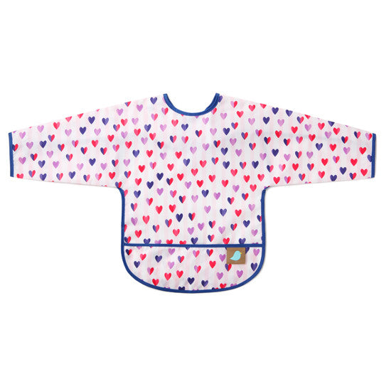 Sleeved Bib/Art Smock - Jaq Jaq Bird - 15