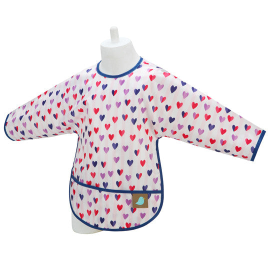 Sleeved Bib/Art Smock - Jaq Jaq Bird - 16