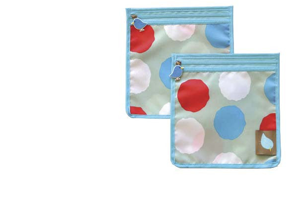 Snack Perfect Pouch™ Set of 2 - Jaq Jaq Bird - 7