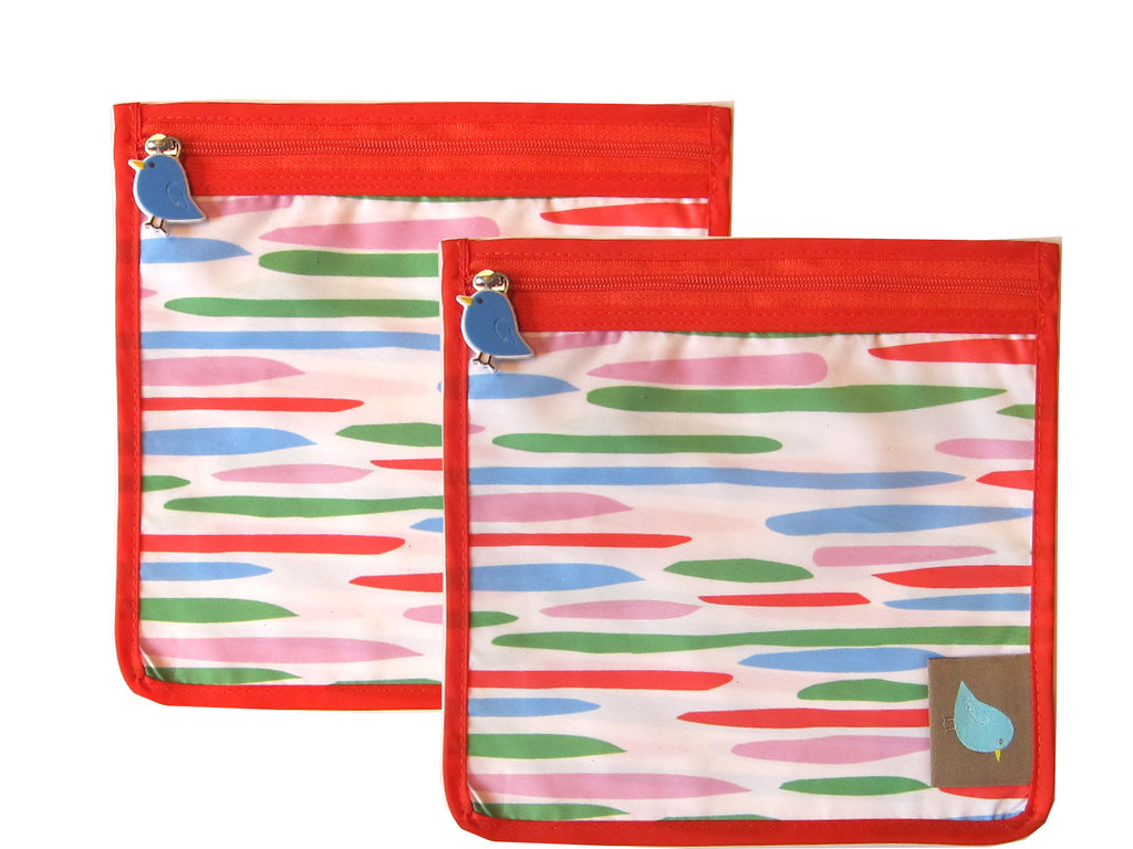 Snack Perfect Pouch™ Set of 2 - Jaq Jaq Bird - 9
