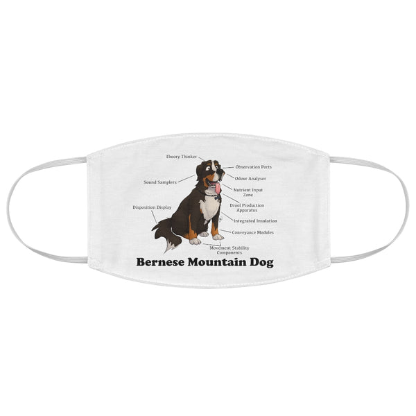 Fabric Face Mask- Bernese Mountain Dog