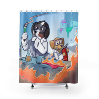 Shower Curtains- Mad Science