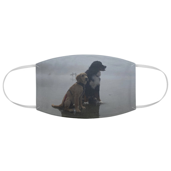 Fabric Face Mask-DOG FOG