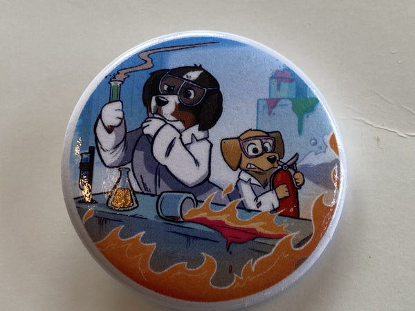 Mad Science Button
