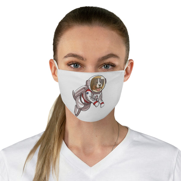 Fabric Face Mask- PASA (puppy areonautics and space administration)