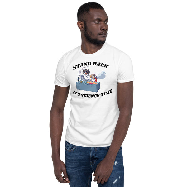 Short-Sleeve Unisex T-Shirt- Mad Science IT'S SCIENCE TIME!