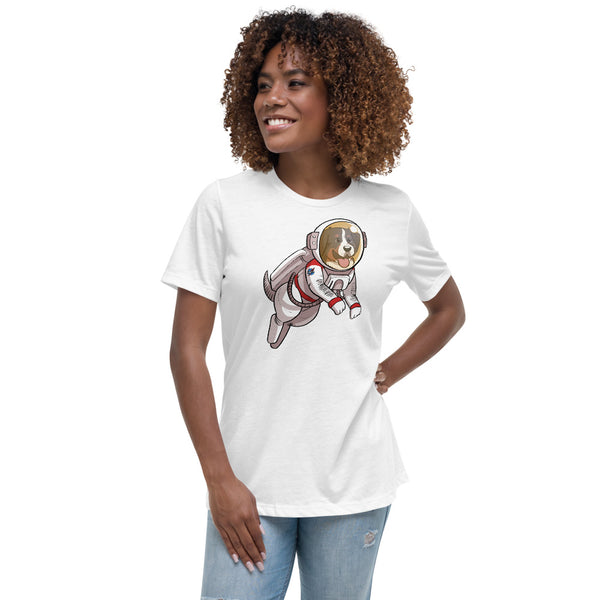 Women's Relaxed T-Shirt - Space Bunsen
