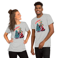 Short-Sleeve Unisex T-Shirt- Happy Pawlidays!!!