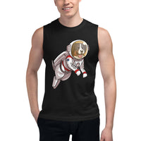 Muscle Shirt- Space Bunsen
