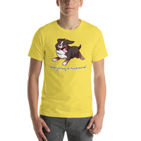Short-Sleeve Unisex T-Shirt- Footloose Bunsen - Everything is Pawesome
