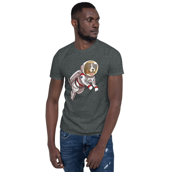 Short-Sleeve Unisex T-Shirt-Space Bunsen